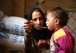 وضعیت بحرانی غذایی در کشورهای جنگ زده