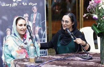 «گلاره عباسی» رادیو سوینا را راهاندازی کرد/ عکس