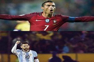 آمار فوق العاده دو فوق ستاره فوتبال جهان