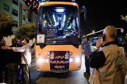 اعزام اتوبوسهای ایرانی برای جابهجایی زوار به عراق