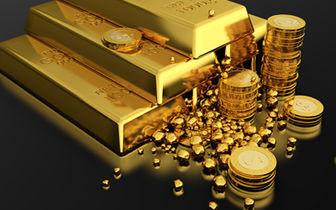 سهم هر اونس طلای جهانی ۱۳۷۴ دلار + نمودار