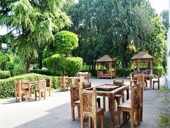 سفرهخانه سنتی باغ شهرداری بهشهر +تصاویر