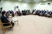 دیدار رئیسجمهور و اعضای هیئت دولت/ گزارش تصویری