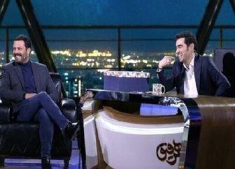 تست کیف قاپی شهاب حسینی و پژمان بازغی