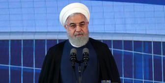 روحانی: آن که بدهکار ایران است و توپ در زمین اوست، آمریکاست