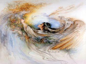 فرشته ای پای درس عابد