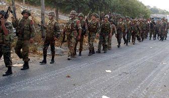 """فرار عناصر مسلح از ارتفاعات """" رأس المعره """""""