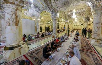 آمادگی صحن حضرت زهرا(س) برای پذیرایی از زائران اربعین