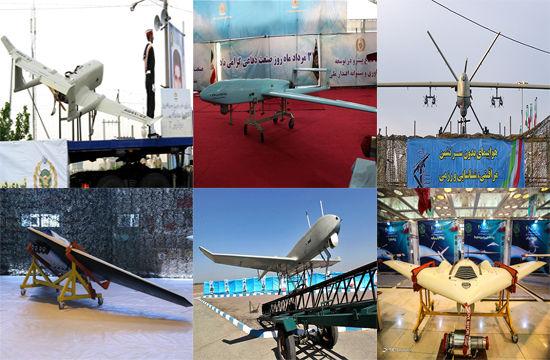 پهپادهای ساخت ایران
