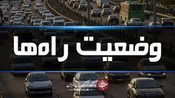 آخرین وضعیت جوی و ترافیکی جادههای کشور در ۲ فروردین ماه