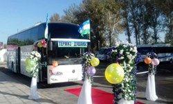ازبکستان و تاجیکستان 3 خط جدید اتوبوسرانی راهاندازی کردند