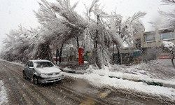 برف و باران در ۱۱ استان کشور