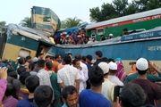 تصادف مرگبار دو قطار در بنگلادش