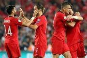 توقف ترکیه مقابل ایسلند در خانه