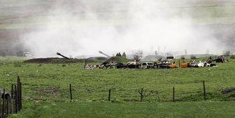 شنیده شدن صدای 8 انفجار در مرکز قرهباغ کوهستانی