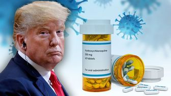 تجویز جدید ترامپ برای بیماران کرونایی