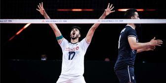 ترکیب والیبال ایران مقابل صربستان اعلام شد