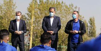 رجز خوانی مدیر عامل استقلال برای تیمهای لیگ برتری