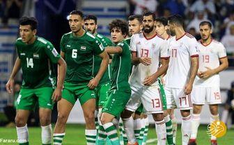 پوستر جالب فدراسیون فوتبال برای استقبال از بازی ایران و عراق+ عکس