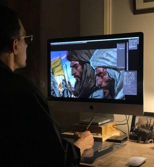 """حسن روح الامین به پروژه انیمیشن """"محمد رسول الله(ص)"""" پیوست/تصاویر"""