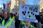 شصت و دومین شنبه اعتراضی در فرانسه+ تصاویر