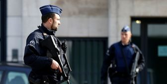 حمله به پلیس بروکسل با سلاح سرد