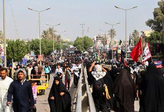 آخرین وضعیت تردد زوار اربعین حسینی در مرز مهران