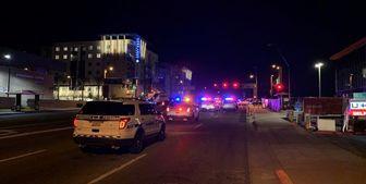 پلیس آمریکا با خودرو معترضان را زیر گرفت+ فیلم