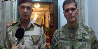 رایزنی تلفنی رئیس ستاد ارتش عراق با فرماندهی عملیات مرکزی آمریکا