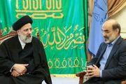 دیدار علی عسکری با رئیس قوه قضاییه