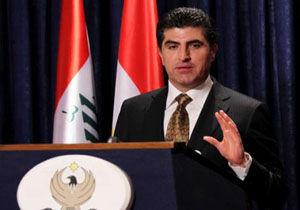 تاکید بارزانی بر آمادگی اربیل برای کمک به حل مشکلات عراق