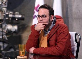 مهران مدیری در کنارِ کارگردان فیلم جدیدش/ عکس
