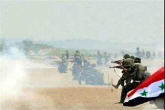 آزادسازی یک روستا توسط ارتش سوریه