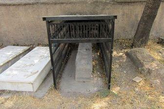 رموز تاریخی که با سنگقبرهای اردبیل دفن شد