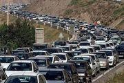 ترافیک در محور کرج-چالوس نیمه سنگین است