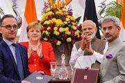 امضا ۱۷ تفاهمنامه همکاری بین آلمان و هند