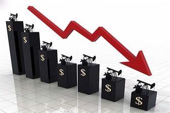 سقوط قیمت نفت آمریکا