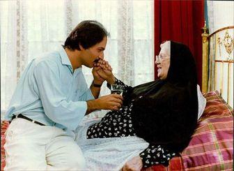 وقتی امین تارخ از مادر سینمای ایران میگوید/ عکس