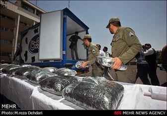 دستگیری ۲ قاچاقچی با ۱۰۰ کیلوتریاک