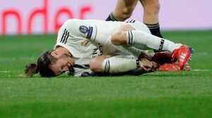 گرت بیل غایب تمرین رئال مادرید