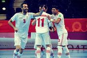 خبر خوش برای تیم ملی فوتسال قبل از بازی با ازبکستان