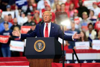 مخالفت ۵۹ درصدی آمریکاییها با برگزاری گردهمایی تبلیغاتی ترامپ
