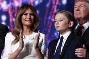 درخواست کاخسفید درباره پسر کوچک ترامپ
