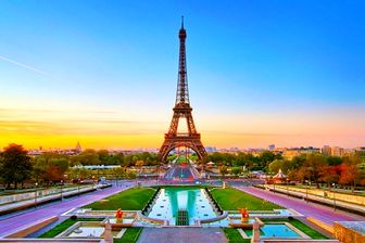 عکسی دیدنی و نمایی زیبا از پاریس
