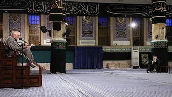مراسم عزاداری شهادت امام سجاد علیهالسلام در حسینیه امام خمینی