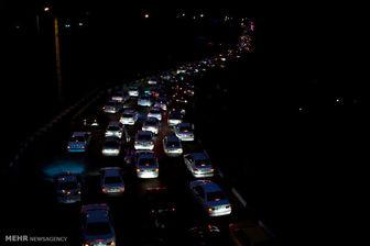 ترافیک آزادراه تهران-کرج-قزوین سنگین است