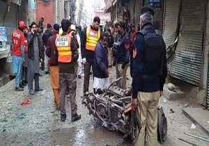انفجار در یکی از بازارهای «پیشاور» پاکستان