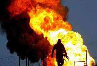 مهار آتش سوزی فازهای 20و 21 پارس جنوبی