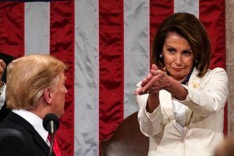 نانسی پلوسی از رفتار ترامپ شوکه شد