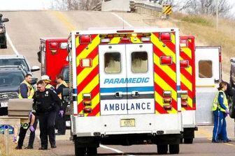 تصادف مرگبار بر اثر مصرف مواد مخدر راننده آمریکایی